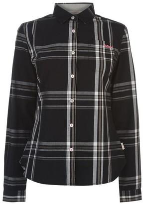 Lee Cooper Long Sleeve Check Shirt Ladies