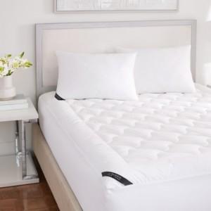 J Queen New York Royalty 233 Thread Count Cotton Top Allergen Barrier Twin Mattress Pad