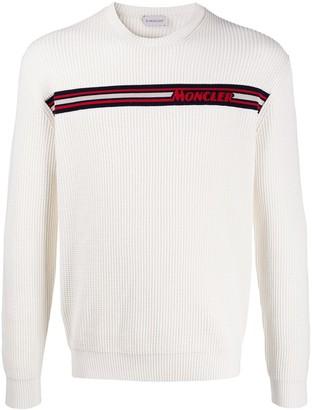 Moncler Waffled Logo Sweatshirt