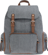 Accessorize Stripe Double Tab Backpack