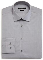 John Varvatos Micro Window Check Slim Fit Dress Shirt
