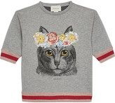 Gucci Flower cat jumper 4-12 years
