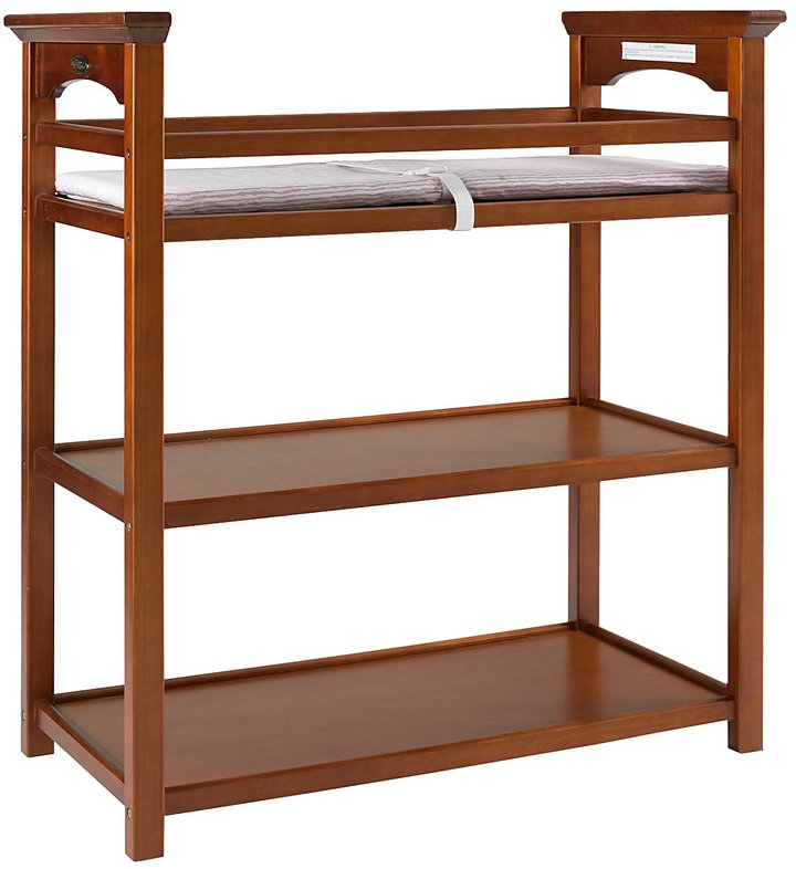 Graco by LaJobi Mission Dressing Table - Cinnamon