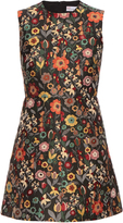 RED Valentino Fancy Flower-jacquard sleeveless dress