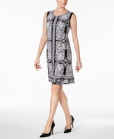 JM Collection Petite Embellished Sheath Dress, Created for Macy's