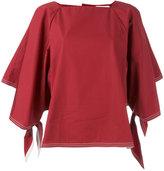 Chloé sailor tie sleeve blouse - women - Cotton - 34