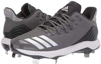 adidas Icon Bounce (Core Black/Footwear White/Carbon) Men's Cleated Shoes