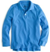 J.Crew Boys' long-sleeve piqué polo shirt