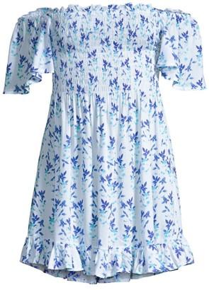 Tiare Hawaii Hendrix Off-The-Shoulder Dress