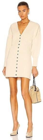 Nicholas Calla Dress in Cream