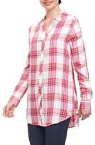 Foxcroft Fay Pinktini Plaid Shirt