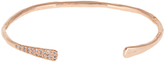 Jacquie Aiche Diamond & rose-gold cuff