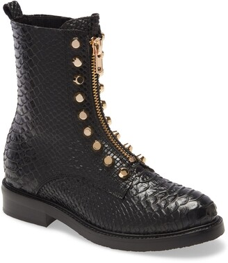Jeffrey Campbell Tonette Studded Zip Boot