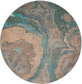N. Nicolette Mayer Agate Round Pebble Placemats, Set of 4