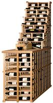 Vinotemp Waterfall 312-Bottle Pine Floor Wine Rack