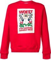 Walter Van Beirendonck - 'woest' print sweatshirt - men - Cotton - L