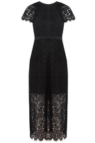 Rachel Zoe Cairo Lace Dress in Black