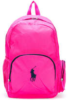 Ralph Lauren logo backpack