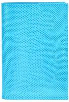 Aspinal of London Lizard refillable journal aquamarine A7