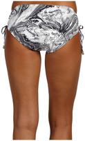 MICHAEL Michael Kors Ocean Front Shirred Hipster Bottom