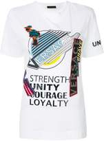 Versace Manifesto print T-shirt