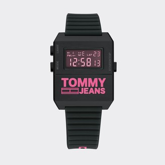 Tommy Hilfiger Tommy Jeans Pink Digital Watch