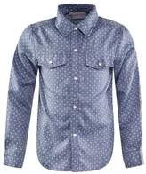 Rachel Riley Blue Polka Dot Flannel Shirt