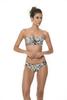 Malai Swimwear 2017 Malai Swimwear - Dark Tropicalia Double Band Bottom B00233