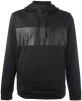 Nike Air Jordan panel hoodie - men - Polyester - M