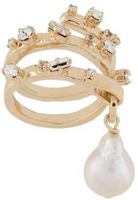 Givenchy Spiral ring