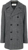 Saint Laurent double breasted Caban coat