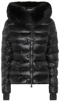 MONCLER GRENOBLE Armotech fur-trimmed down ski jacket