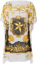 Versace Sea print dress