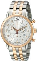 88 Rue du Rhone Men's 87WA120057 Analog Display Swiss Quartz Two Tone Watch