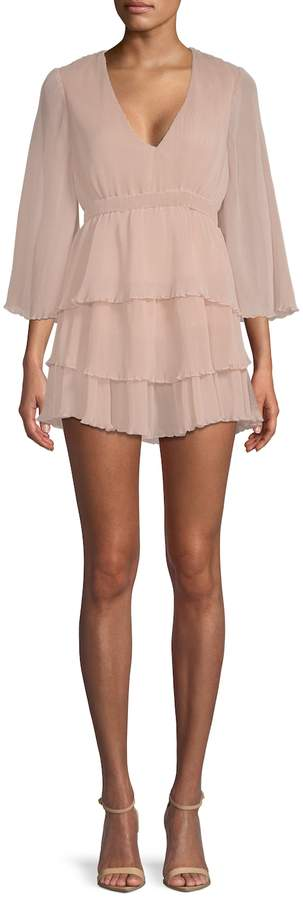 Alice McCall Women's And Then You Kissed Me Tiered Mini Dress