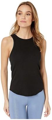 Beyond Yoga Keep In Line Tank (Black) Women's Clothing