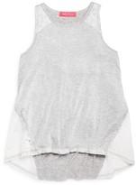 Menu Girls' Lace Trimmed Tank - Sizes XS-XL