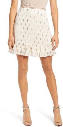 Vero Moda Shimmer Layer Miniskirt