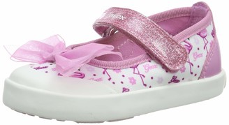 Geox Girl's Kilwi Floral May Jane Shoe