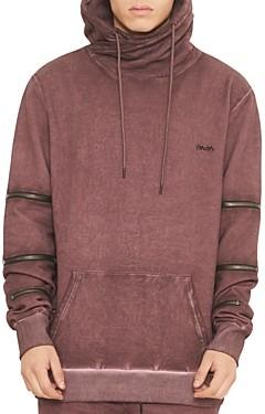 nANA jUDY Moto Hooded Sweatshirt