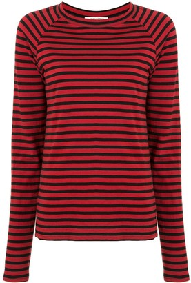 Nili Lotan striped raglan-sleeve T-shirt