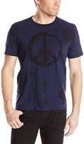 John Varvatos Men's Peace Spencer Wash Graphic T-Shirt