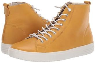 Rieker D1470 Cecilia 70 (Yellow) Women's Shoes