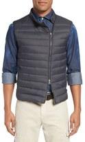 Eleventy Water Resistant Asymmetrical Zip Vest