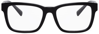 Versace Black Square Glasses