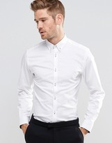 Selected Homme Formal Shirt With Button Down Collar