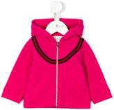 Gucci Kids - GG Web hooded sweatshirt - kids - Cotton/Viscose - 6-9 mth