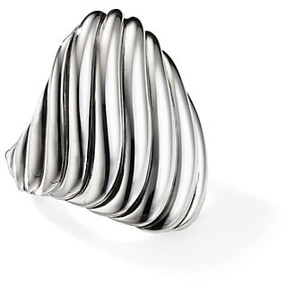 David Yurman Cable Sterling Silver Ring