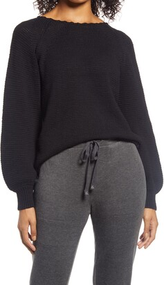 Lou & Grey Shaye Balloon Sleeve Sweater