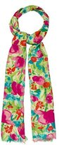 Loro Piana Floral Cashmere Scarf w/ Tags